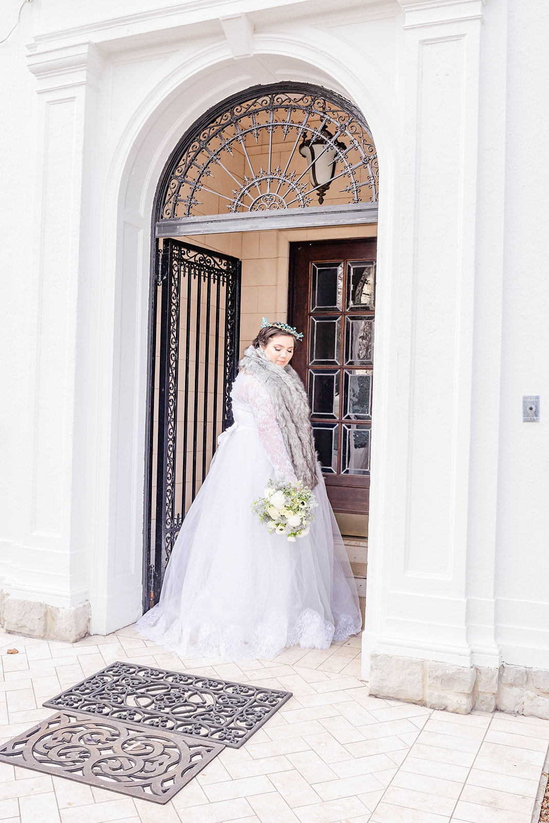 Kylie Bush, the bride model