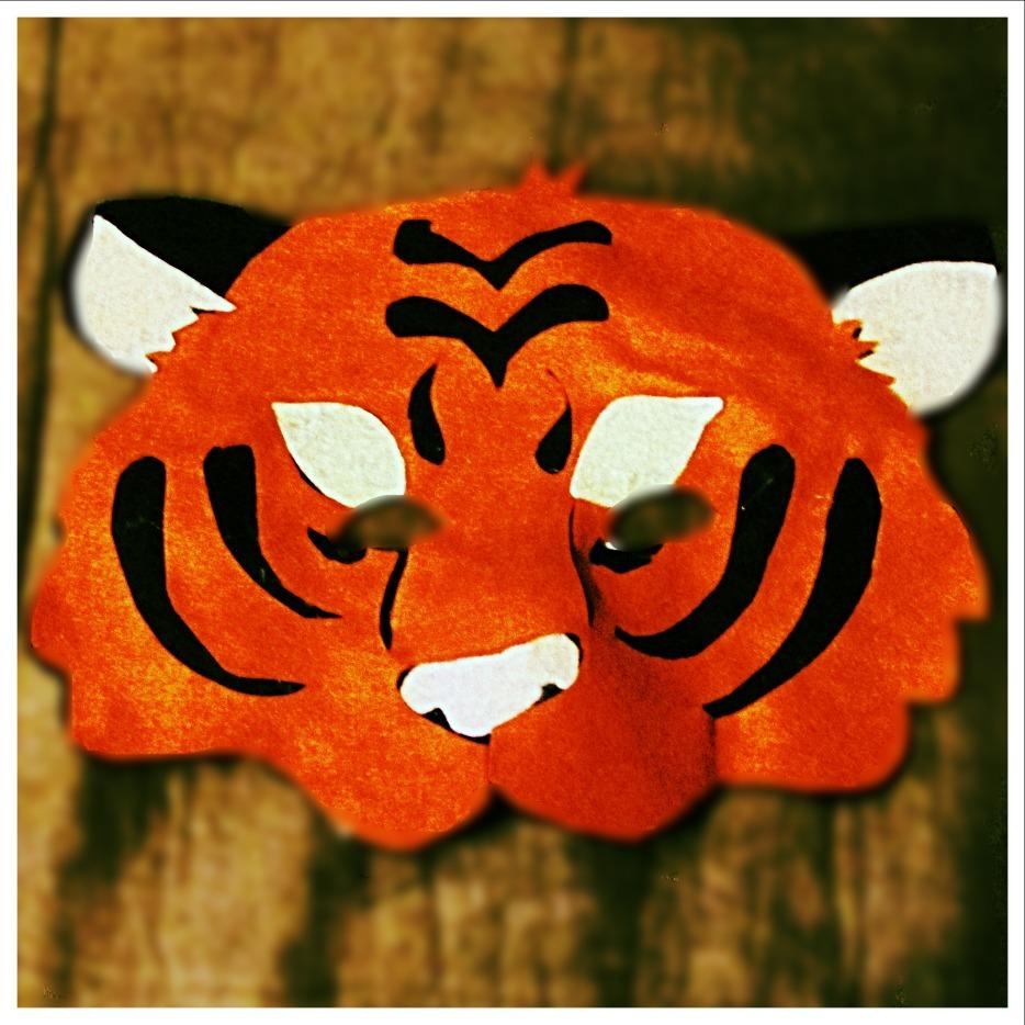 Felt Tiger Mask
