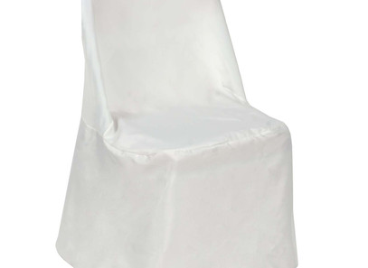 Ivory Folding Chair Covers - Rentable Item