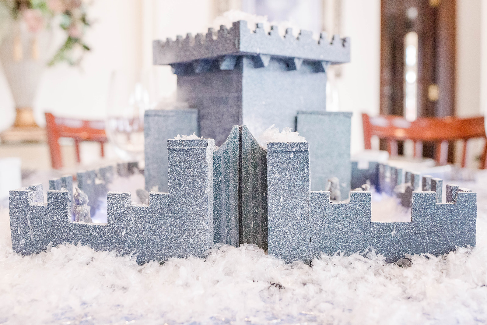 White Witch's Castle Centerpiece