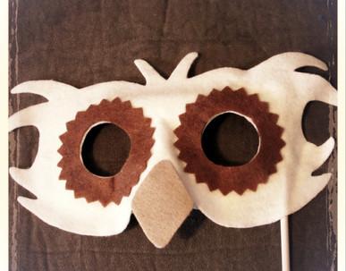 Owl Mask 4 - Rentable Item