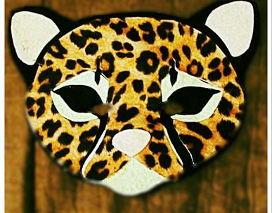 Cheetah Mask - Rentable Item