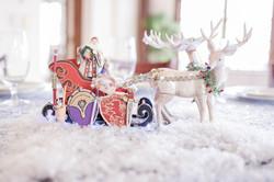 Father Christmas' Sleigh & Gifts
