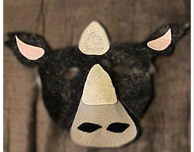 Rhino Mask - Rentable Item