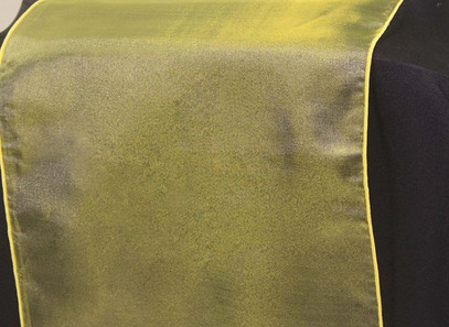 Yellow Organza Table Runner - Rentable Item