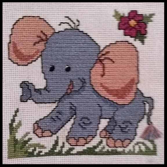Cross Stitch Elephant