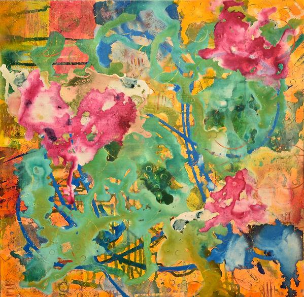 Exultant_acrylic on canvas_20x20_Alice N