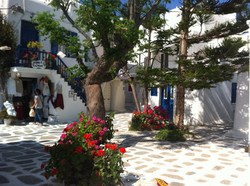 Joanna square Mykonos town