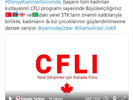 CFLI-Yerel Girişimler İçin Kanada Fonu, Mart 2021