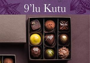 9'lu karışık el yapımı belçika çikolatası