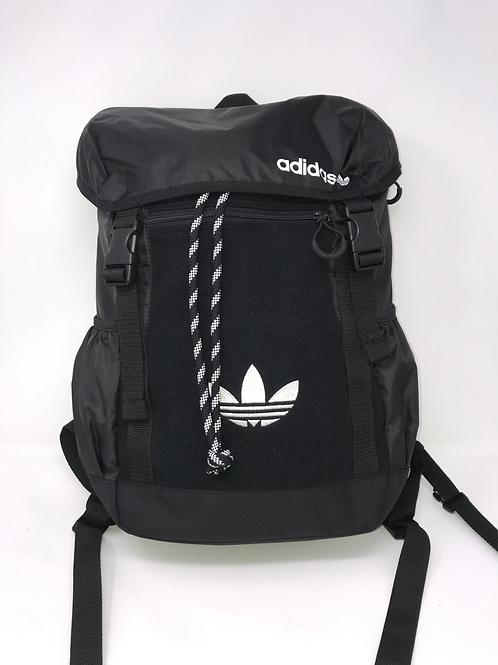 Adidas GD5004 PE Toploader BP Rucksack Schwarz und Weiß