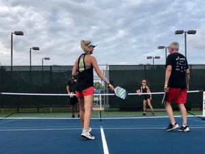 SUNDAY APRIL 25 TODAY AT WILDFLOWER TENNIS CENTER