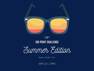 """100 POINT CHALLENGE """"SUMMER EDITION""""   MAY 23"""