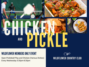 WED JUNE 9 | TODAY AT WILDFLOWER TENNIS CENTER