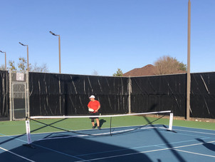 WEDNESDAY APRIL 14 TODAY AT WILDFLOWER TENNIS CENTER