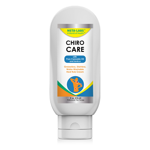 Chiro Care with Cannabis Oil 8 oz
