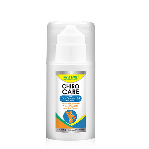 Chiro Care Muscle and Joint Cream with Cannabis oil 6 oz