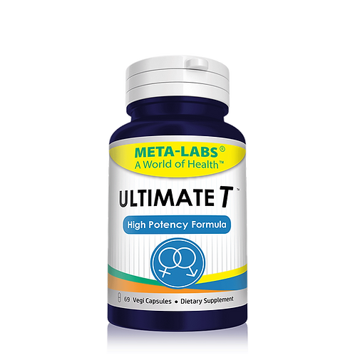 ULTIMATE T- HIGH POTENCY FORMULA 69 CT, TRILLIUM ERECTUM, POTENCY WOOD EXTRACT.
