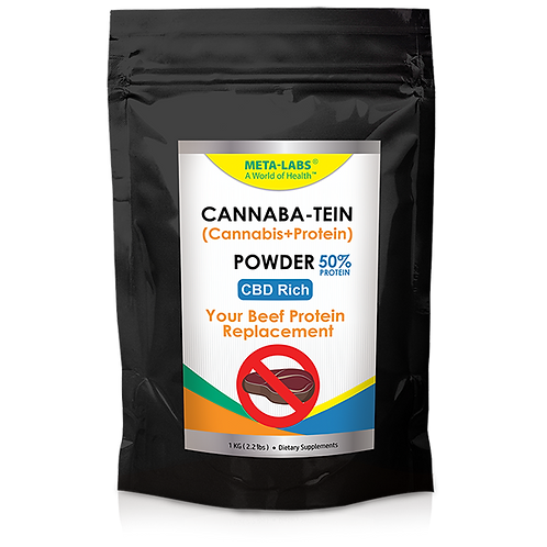 Cannaba-Tein PROTEIN POWDER 2.2 lbs