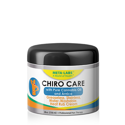 CHIRO CARE MUSCLE AND JOINT CREAM WITH CANNABIS OIL 8 oz