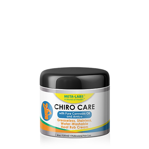 Chiro Care Muscle and Joint Cream with Cannabis Oil 4 oz