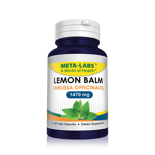 Wholesale MELISSA LEMON BALM-100, LEMON BALM (LEAF)