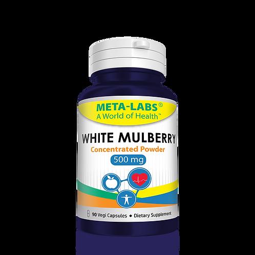 WHITE MULBERRY (500) 90 Vegi Capsules