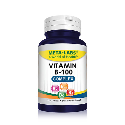 VITAMIN B 100 COMPLEX 120 CT