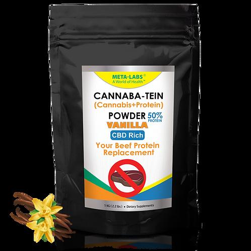 Cannaba-Tein PROTEIN POWDER Vanilla 2.2 lbs