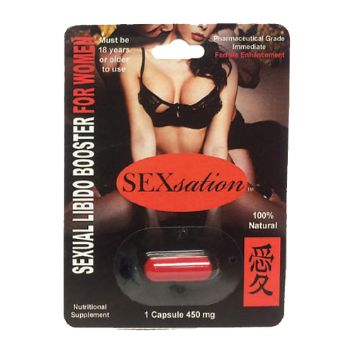 SEXUAL LIBIDO BOOSTER FOR WOMEN-1 CAPSULE