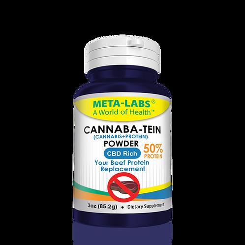 CANNABA-TEIN POWDER, 3 OZ., CBD RICH, THIS PRODUCT CONTAINS ZERO (0) THC