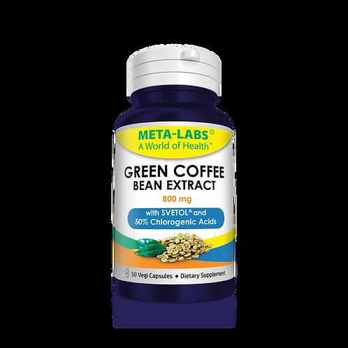 PURE GREEN COFFEE BEAN EXTRACT 50 Vegi Capsules