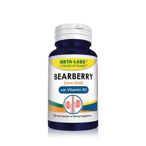 BEAR BERRY EXTRACT (UVA-URSI), 90 CT, BEARBERRY LEAF (UA-URSI), VITAMIN B3