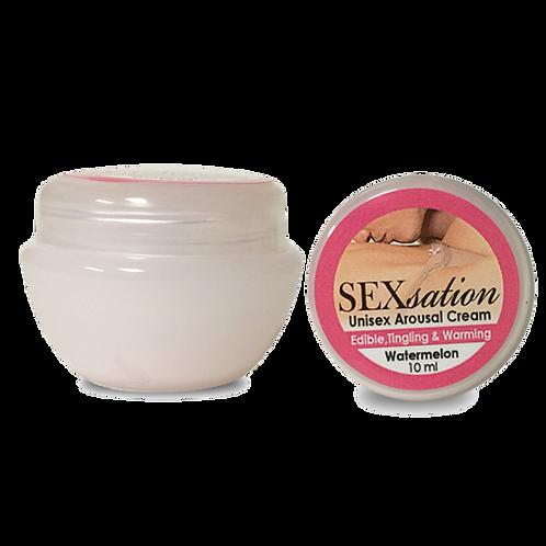 Strawberry Edible, Tingling, Warming Cream-10 ML