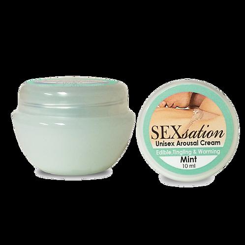 Mint Edible, Tingling, Warming Cream-10 ML