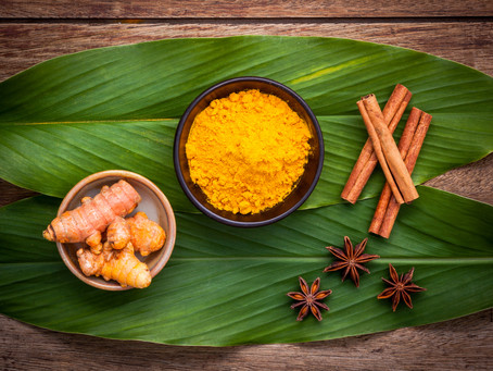 How does Turmeric help treat viral infections?