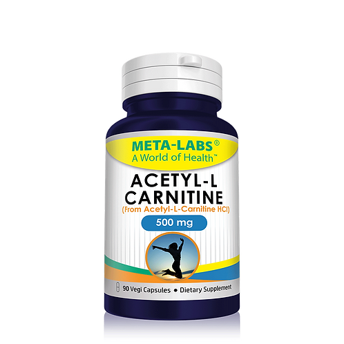 ACETYL - L CARNITINE 90CT (from Acetyl-L-Carnitine HCl) - 500 MG