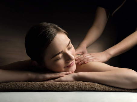 Time spent getting a massage is never wasted.