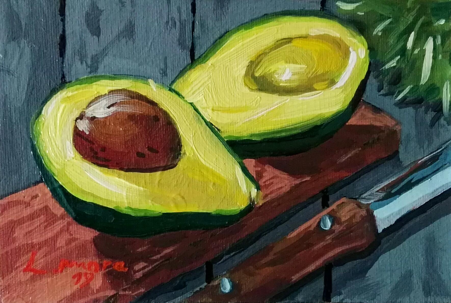 """""""Aguacate. Colección los Fruitis"""""""