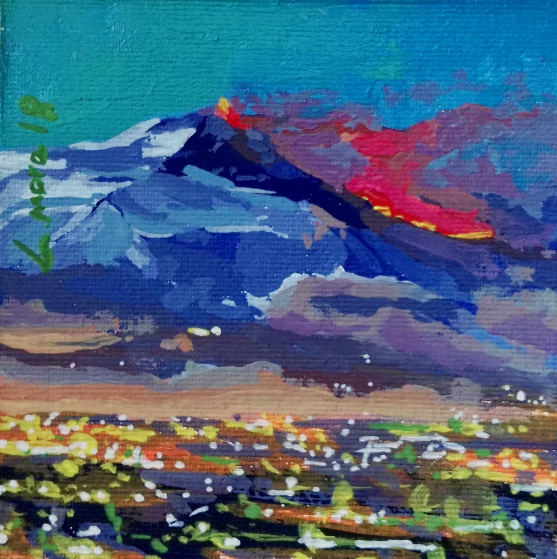 """Majestuoso Etna"""