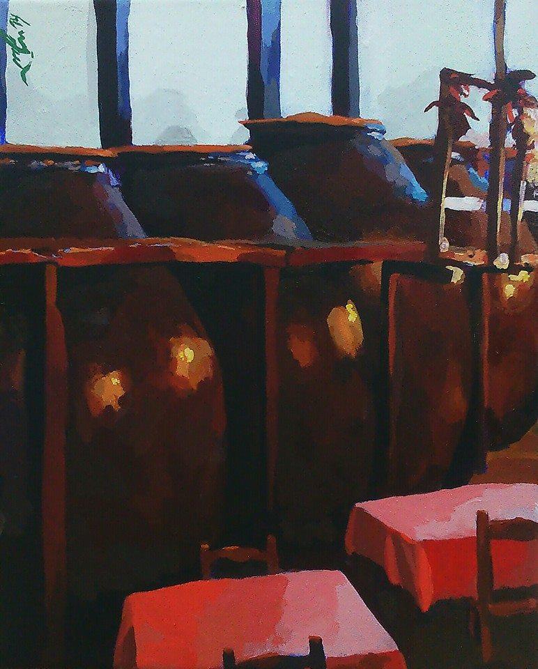 """""""La bodega de vino (La venta)"""""""