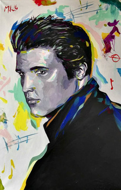 """ The King ,Elvis Presley """