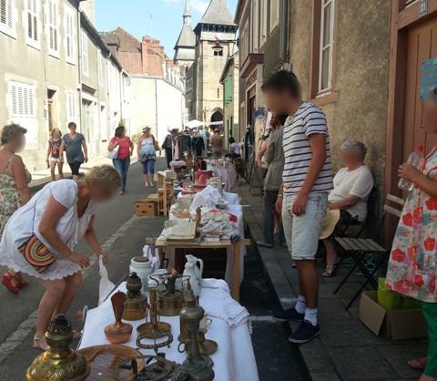 Brocante Chambon-sur-Voueize