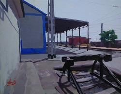 """""""La estación de trenm Daimiel"""""""