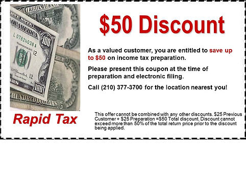 $50 Discount Coupon