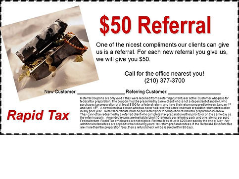 $50 Referral Coupon