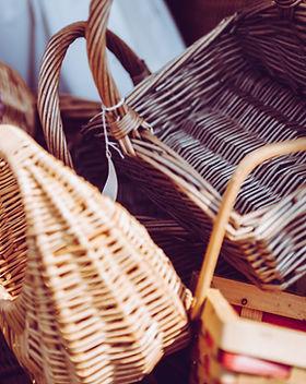 cesta de la paja