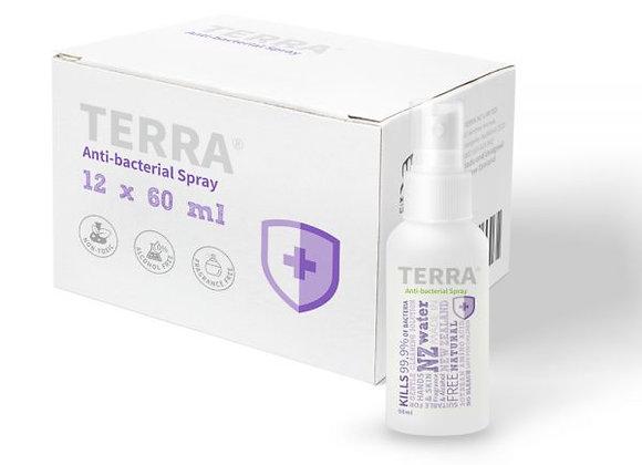 TERRA Anti-bacterial Spray 60ml Value Pack 12 Pcs