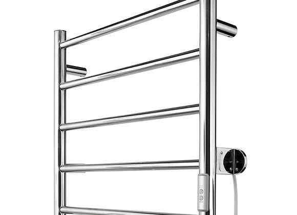 Brilliant Heated Towel Rail With Hidden Wiring Chrome - 20845/16