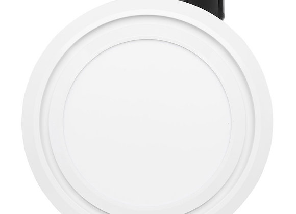 Talon Round Small Exhaust Fan With 9W LED Light White - 20396/05